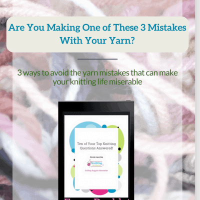 Are You Making One of These 3 Mistakes With Your Yarn?