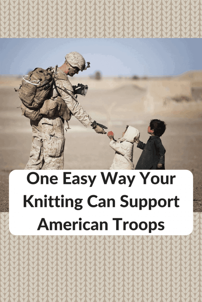 knit for troops