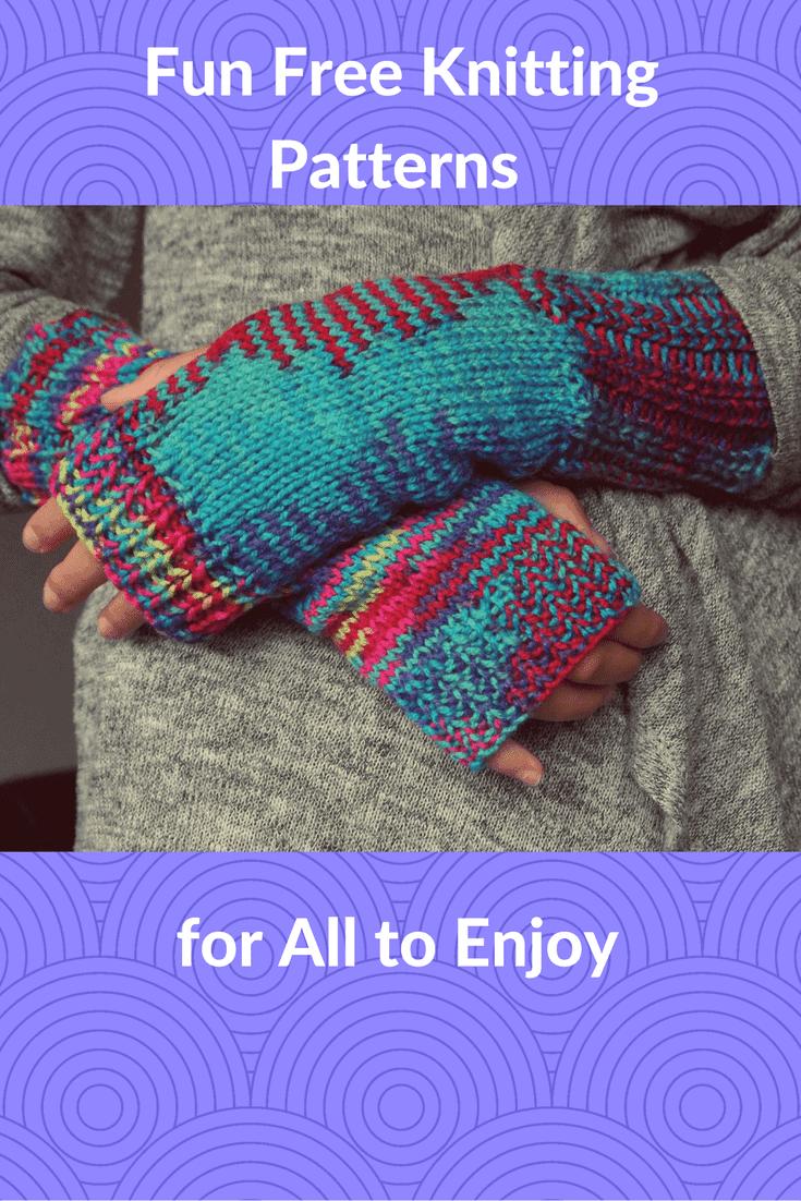 My Favorite Fun Free Knitting Patterns - Knitting for Charity