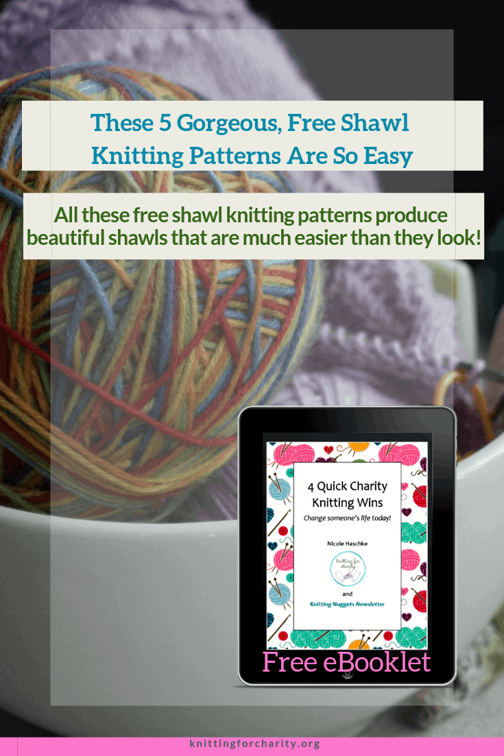 These 5 Gorgeous, Free Shawl Knitting Patterns Are So Easy