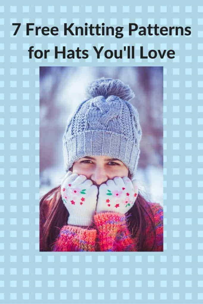 free knitting patterns for hats