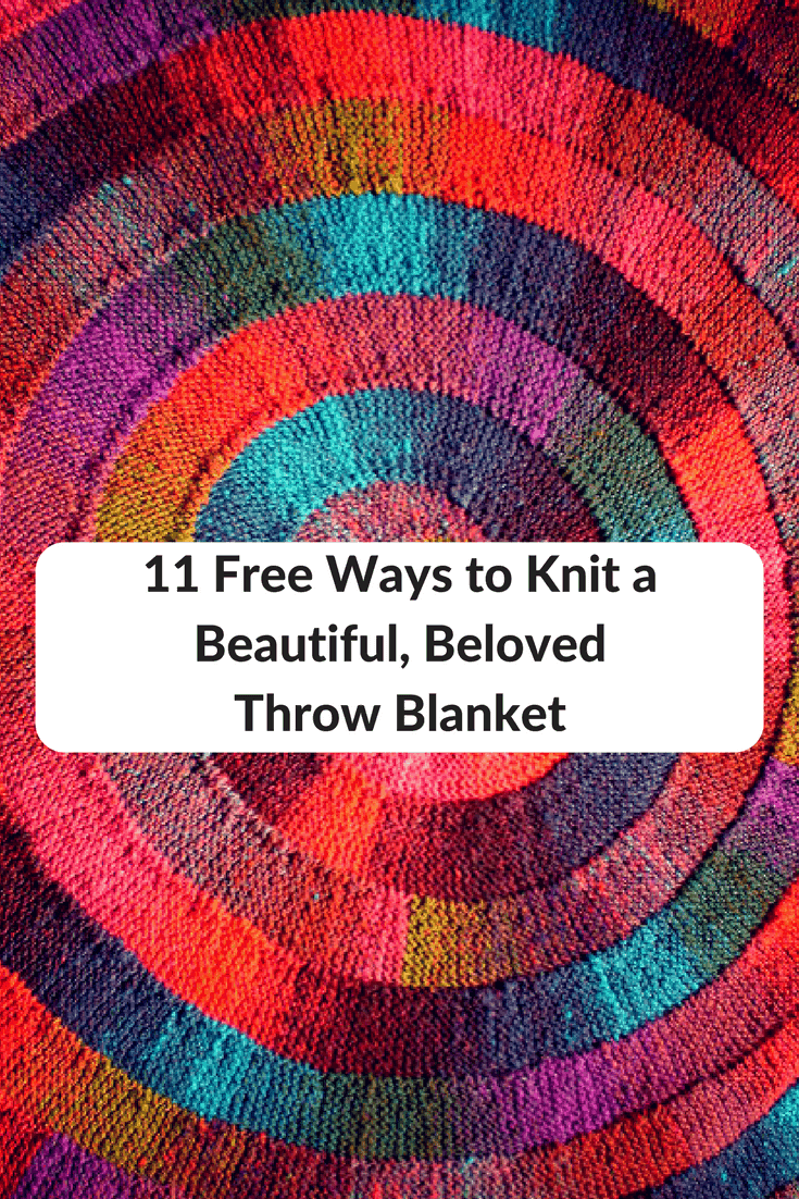 Knitting For Charity South Australia : Free ways to knit a beautiful beloved throw blanket