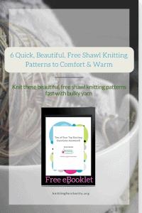 quick shawl knitting patterns