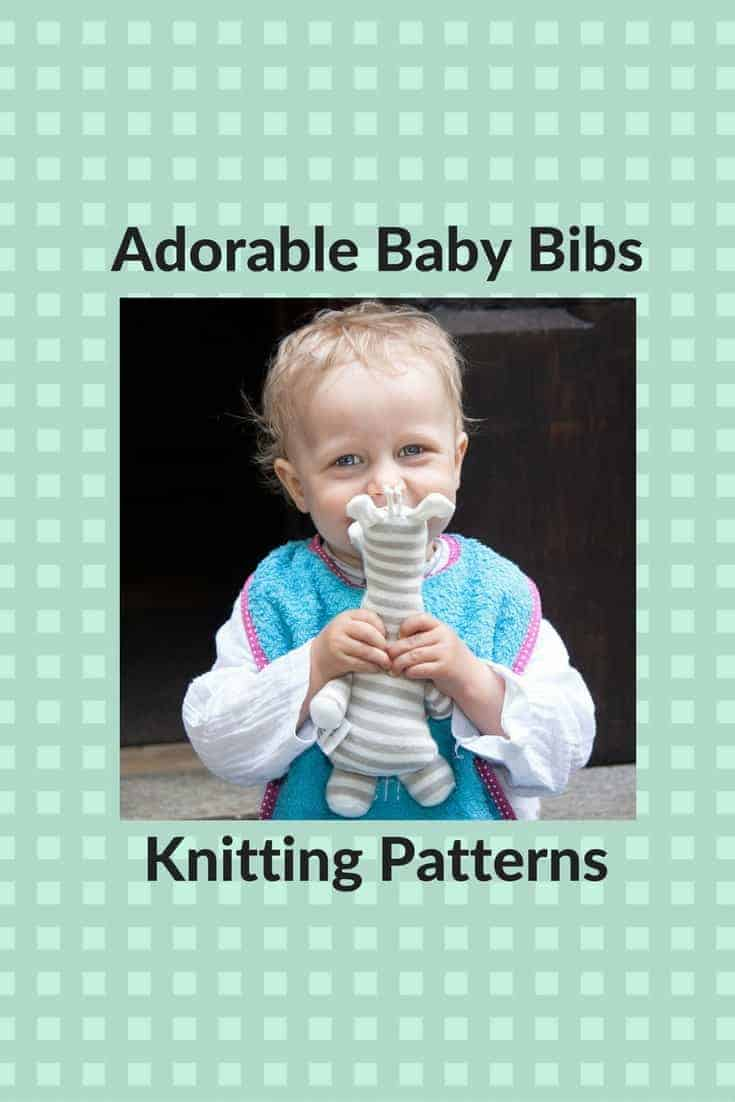 Practical and Cute Free Knitting Patterns for Baby Bibs - Knitting ...