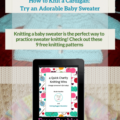 How to Knit a Cardigan: Try an Adorable Baby Sweater