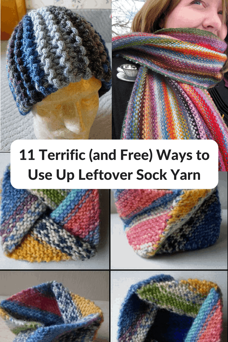 11 Terrific Ways to Use Up Leftover Sock Yarn - for Free - Knitting ...