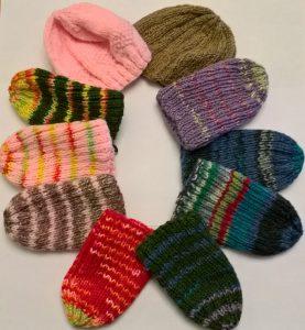 travel knitting