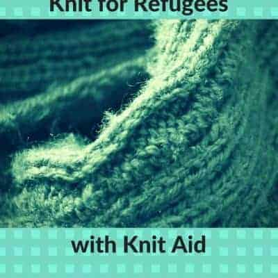 Knit for Refugees with UK-Based Knit Aid