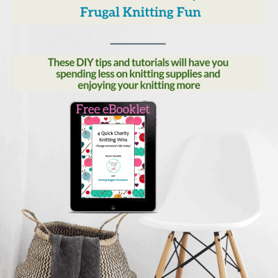 How to DIY Your Way to Frugal Knitting Fun