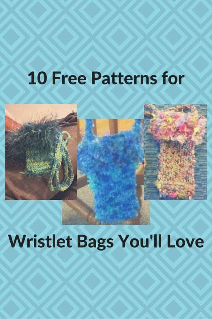 10 Free Ways To Knit Wristlet Bags Youll Love Knitting For Charity