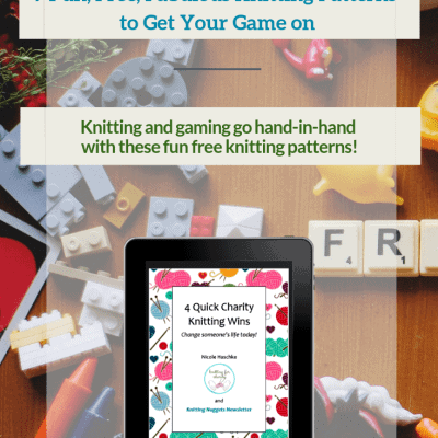 9 Fun, Free, Fabulous Knitting Patterns to Get Your Game On