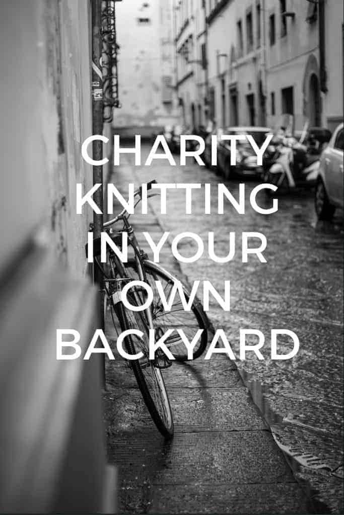charity knitting locally