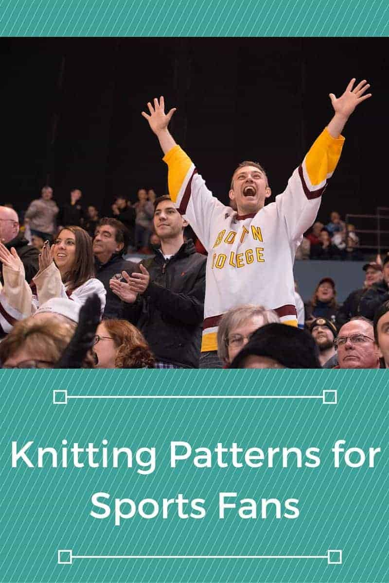 Free Knitting Patterns for Sports Fans - Knitting for Charity