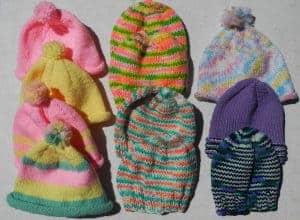 Mary Sue Hats for Haiti