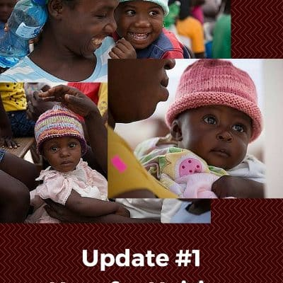 Hats for Haitian Babies: an Update on Round 1