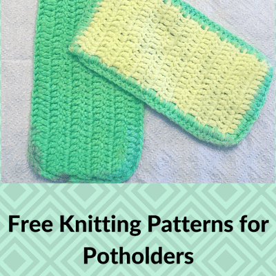 Free Potholder Patterns Make Great Gifts and Charity Projects