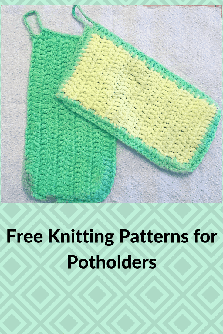 Free Potholder Patterns Make Great Gifts and Charity Projects ...