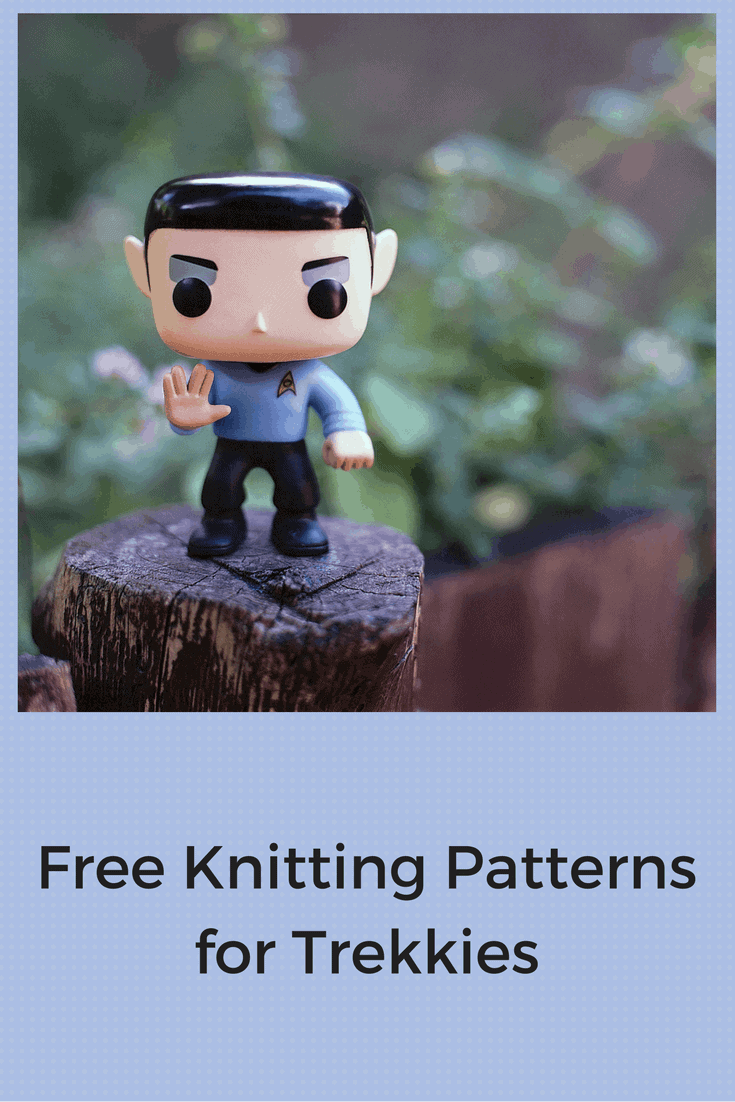 Free Star Trek Knitting Patterns for Trekkies Young and Old ...