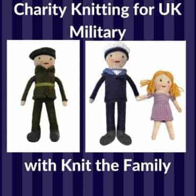 Charity Knitting for UK Military through Knit the Family