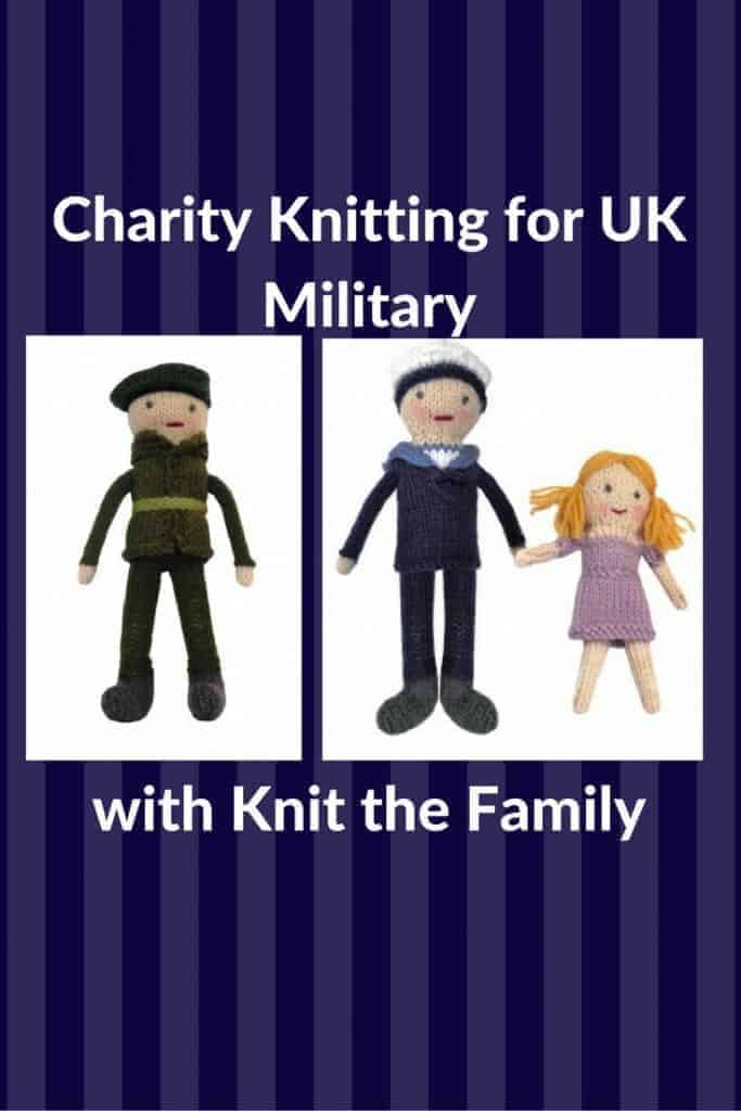 charity knitting for UK military