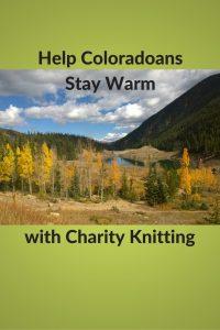 Colorado Knitting Charities Help Warm Body and Soul