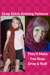 These 10 Fabulous Free Drop Stitch Knitting Patterns Will Make You Stop, Drop & Roll