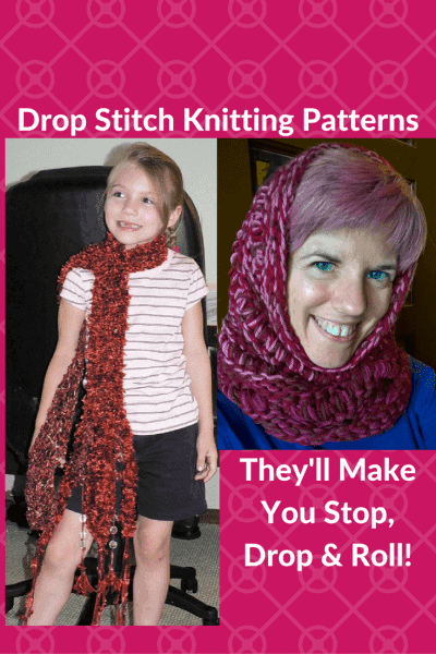 drop stitch knitting patterns