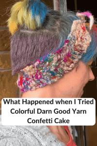 Darn Good Yarn Confetti Cake