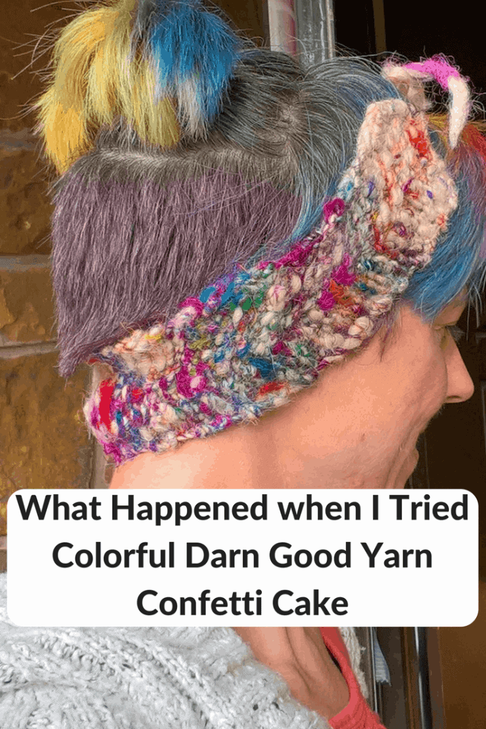 Darn Good Yarn Confetti Cake