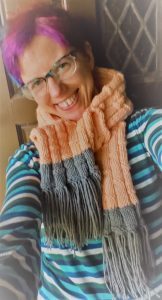 knit a simple scarf