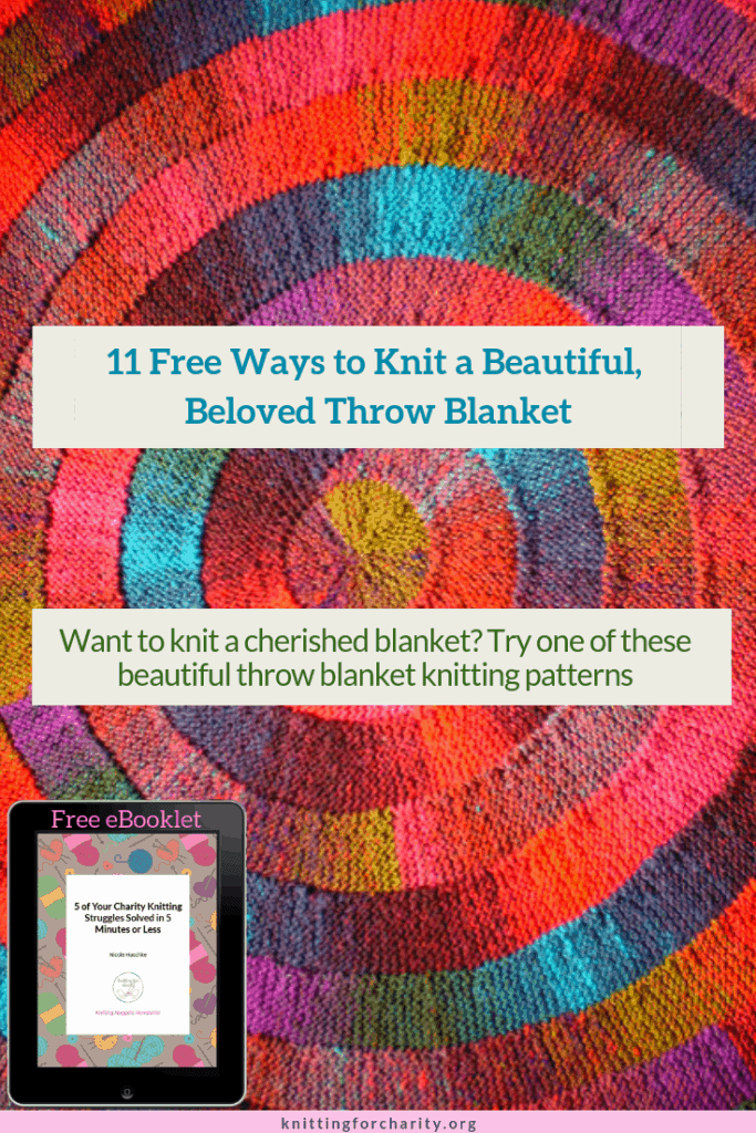 11 Free Ways to Knit a Beautiful, Beloved Throw Blanket ...