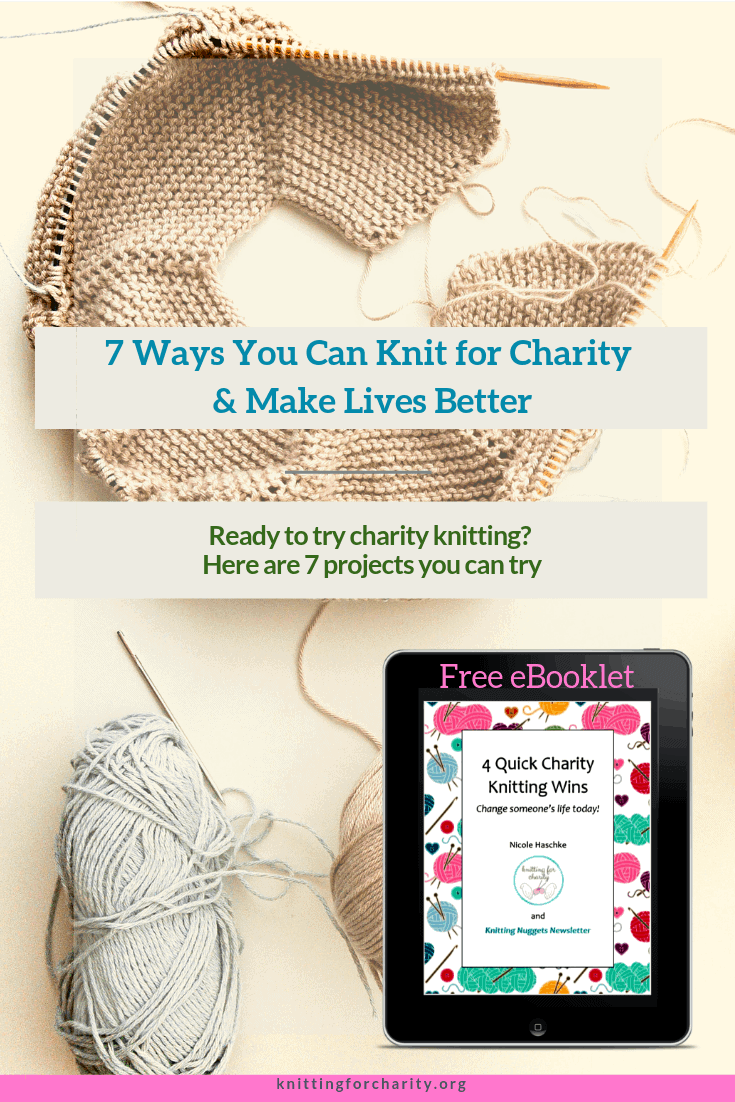 7 ways to knit for charity