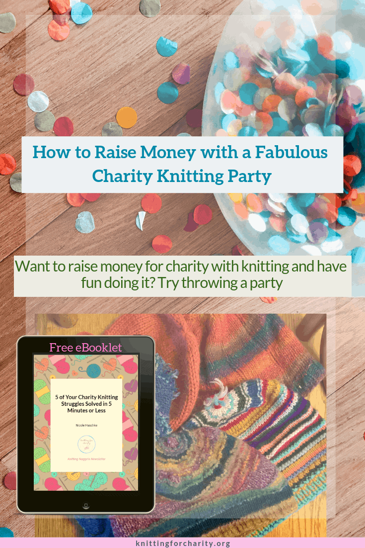 charity knitting party