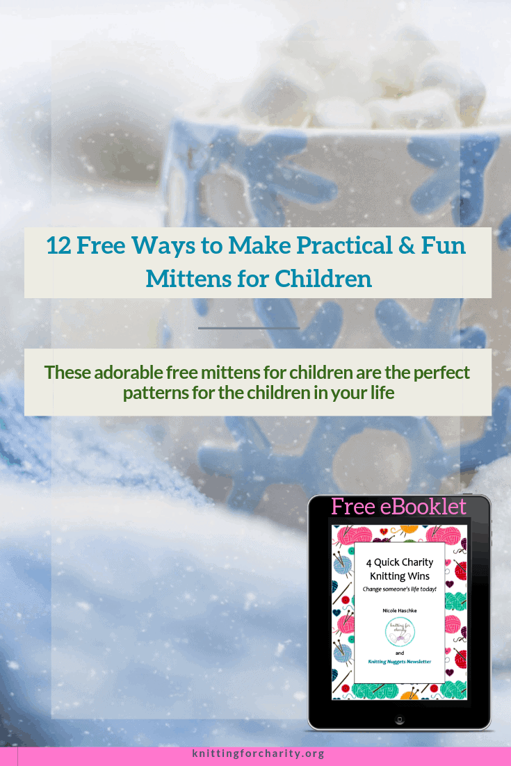 free mitten knitting patterns for children