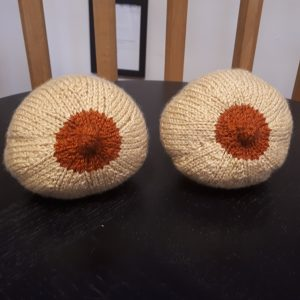 Baby Lifeline knitted breasts