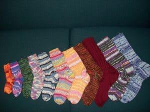 free sock knitting patterns