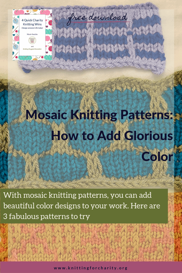 Mosaic Knitting Patterns