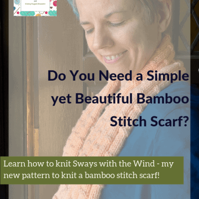 Do You Need a Simple yet Beautiful Bamboo Stitch Scarf?