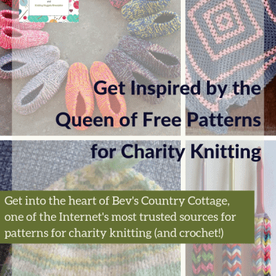 Get Inspired by the Queen of Patterns for Charity Knitting