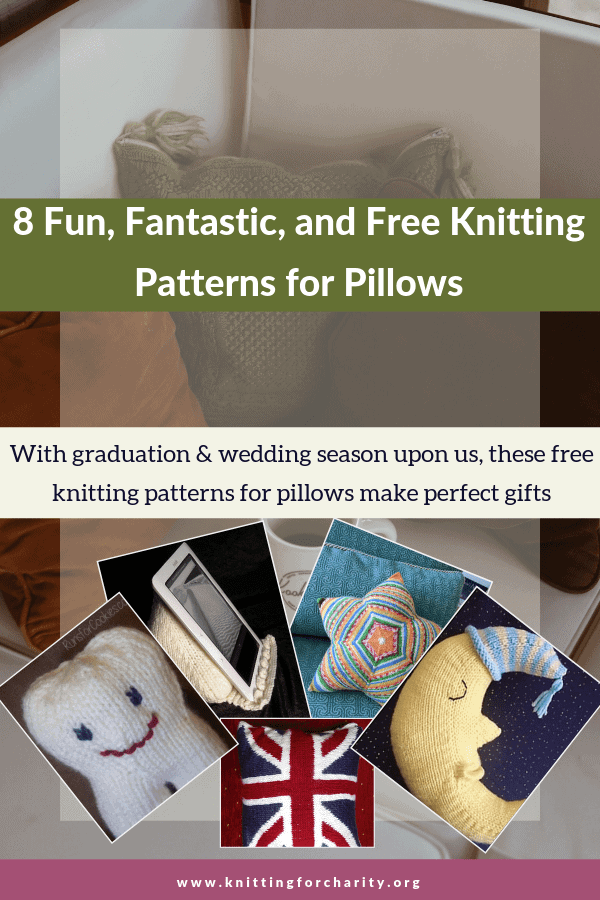 free knitting patterns for pillows