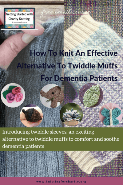 Twiddle Muffs for Dementia Patients - sleeves