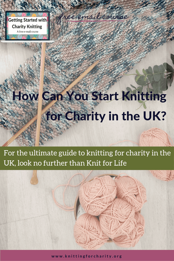 knitting for charity UK