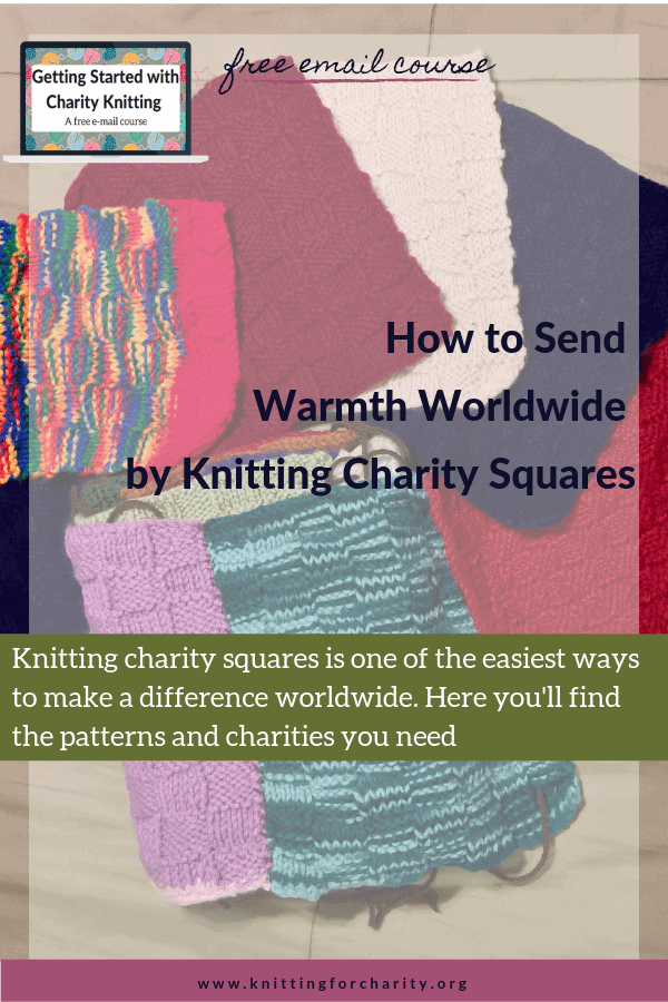 knitting charity squares