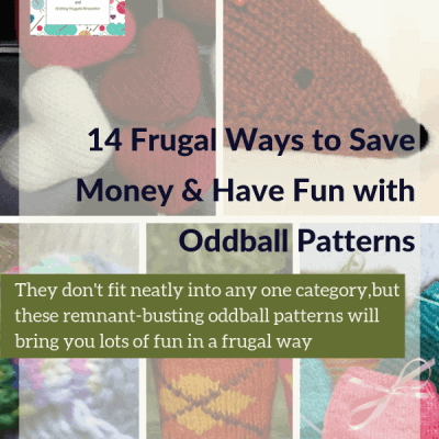 14 Frugal Ways to Save Money & Have Fun with Oddball Patterns