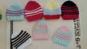 premature baby knitting charity - hats