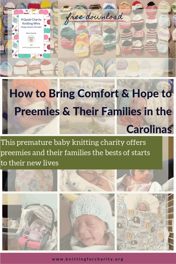 Preemies of the Carolinas - premature baby knitting charity