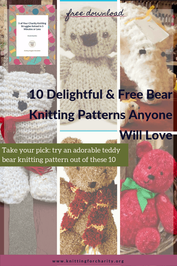 Ravelry: Charity Bear pattern by Lucy of Attic24 | 900x600