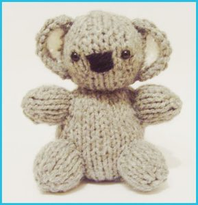 Koala Baby - Raynor Gellatly, Knitted Toy Box Designs