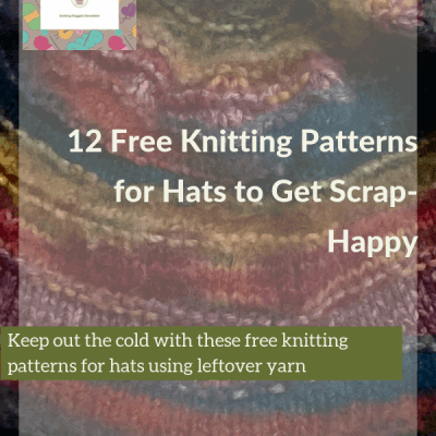 12 Free Knitting Patterns for Hats to Get Scrap-Happy