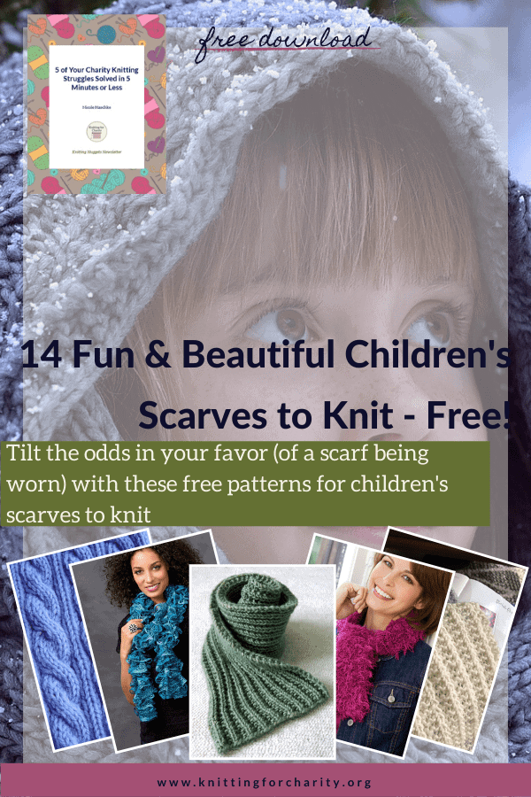 Free Children's Scarves to Knit